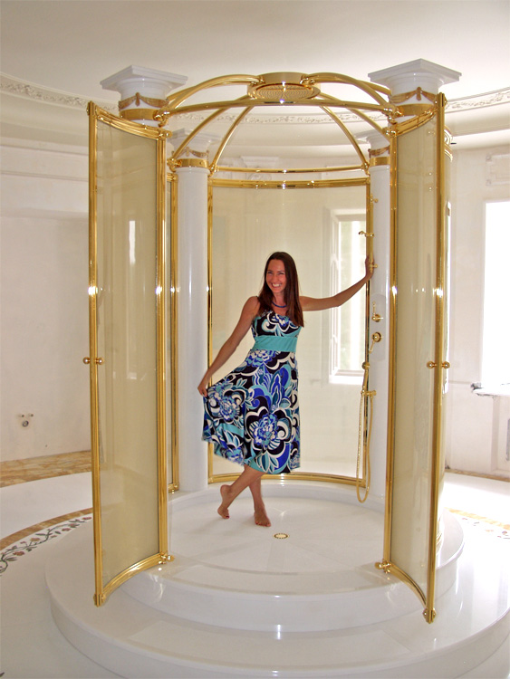 luxury bathrooms marble inlay work marble floor lion. Black Bedroom Furniture Sets. Home Design Ideas